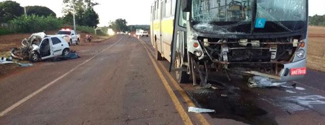 Jovem morre em acidente de trânsito na PR-466