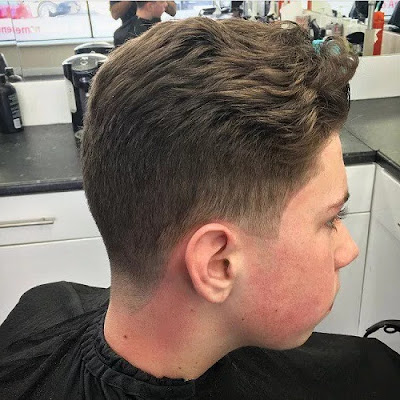 Soft Taper with Texture Cut