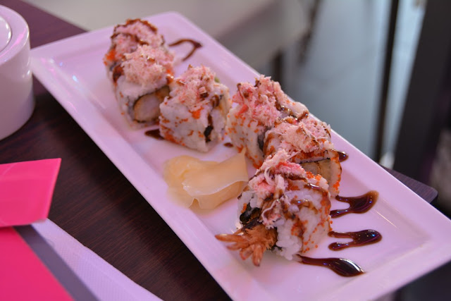Planet Sushi Marseille special roll