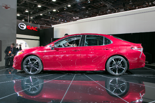 Toyota 2018 Camry powertrain drivability and Style