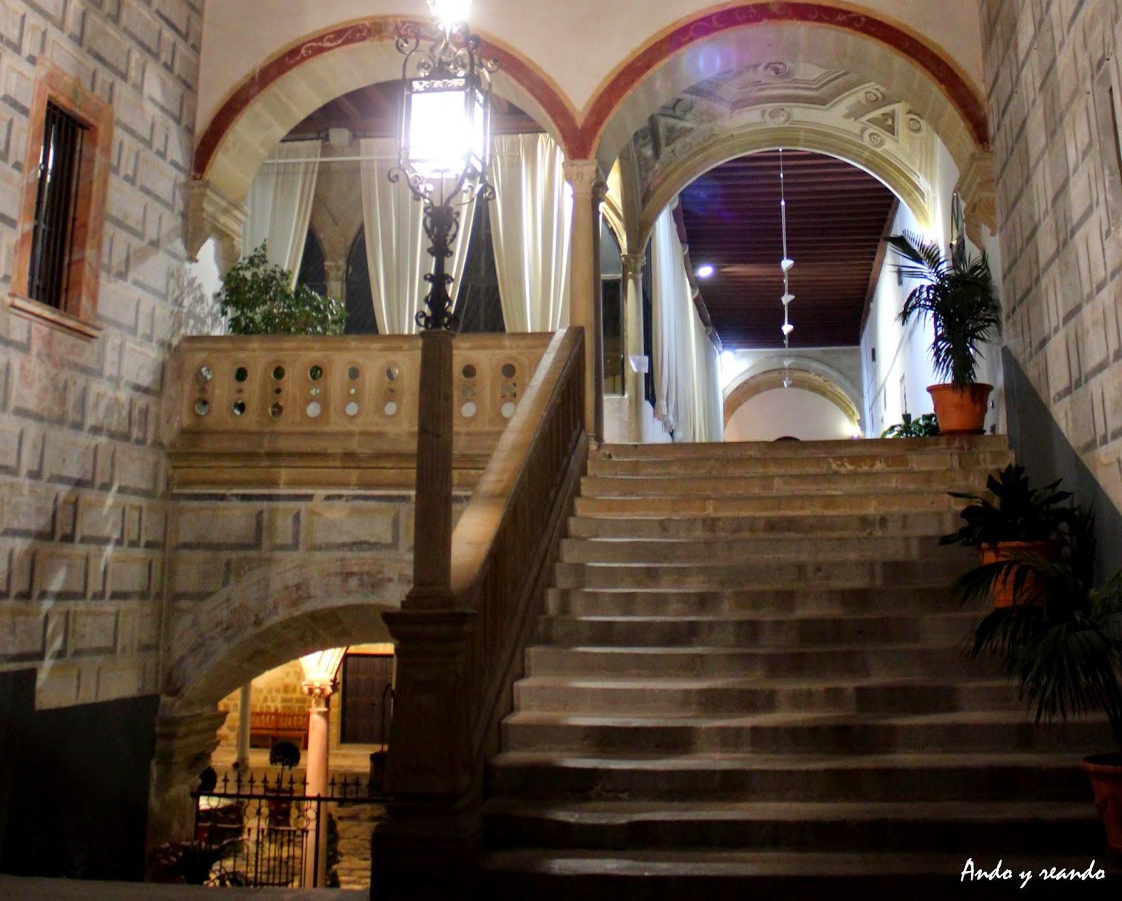 Escalera imperial del Hospital de Santiago-Úbeda