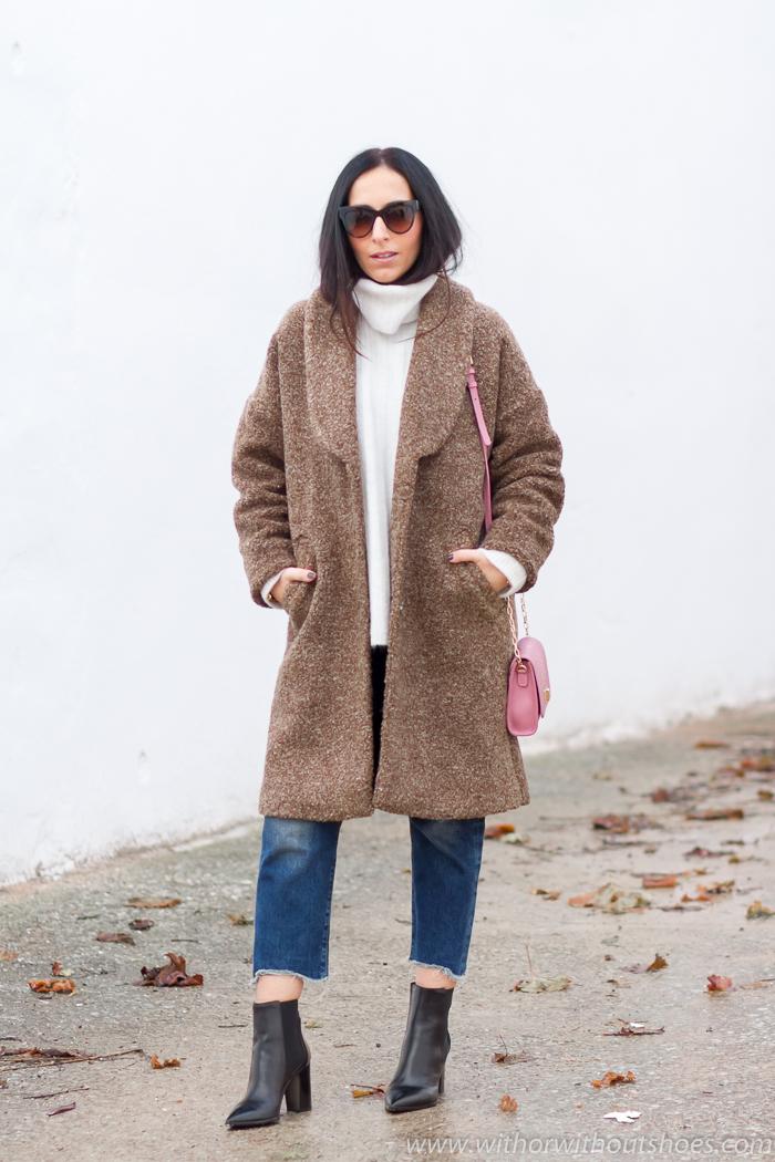 ideas para vestir dias frios con look abrigado bonito