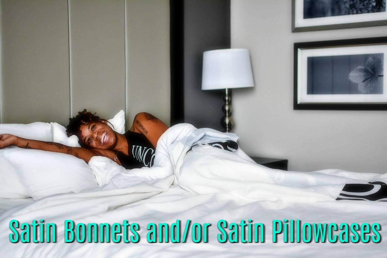 Click here to protect your natural hair with LEVINSOHN Levinsohn Pillow GuardTM Satin Beauty Care Pillow Protector
