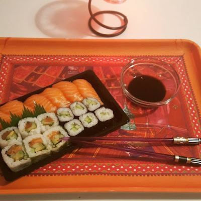 Sushis Cuisine japonaise Japanese Food Pensées positives Count your Blessings Enjoy The Little Things Spring