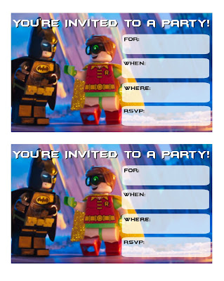 lego batman 2017 party printables