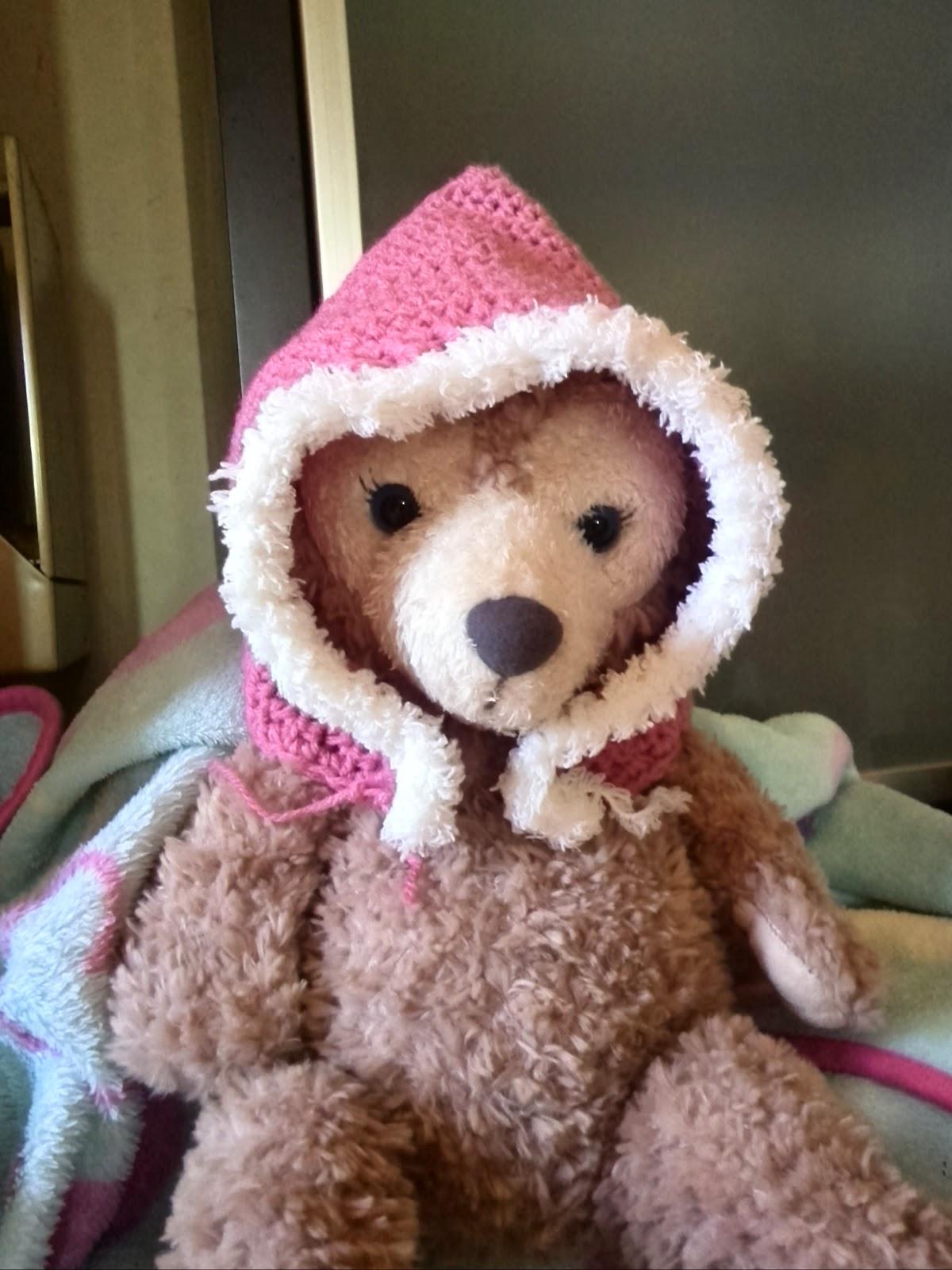 かぎ針赤ちゃん用妖精帽子 baby pixie hat