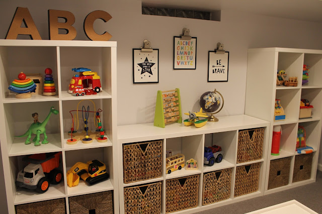 playroom pottery barn kids toy storage