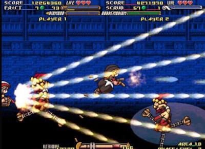 槍屍戰線(GundeadliGne),炫麗刺激的全螢幕彈幕射擊!