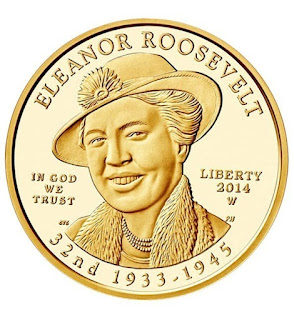 US Gold Coins Eleanor Roosevelt 10 Dollars First Spouse Gold Coin