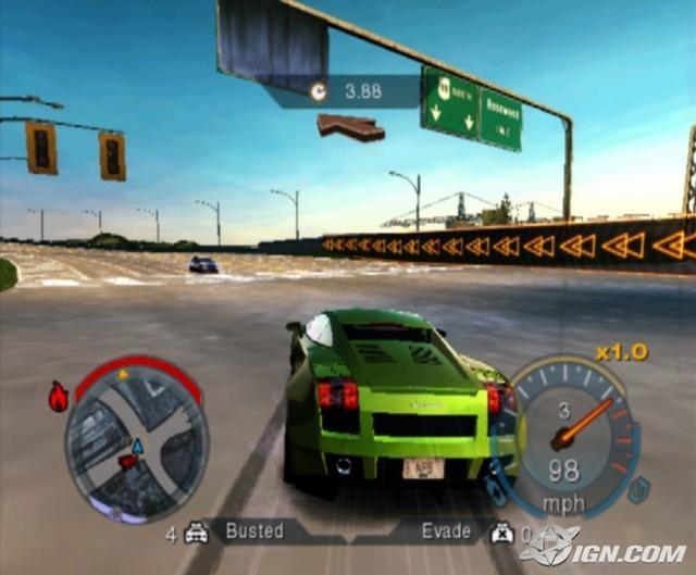 Need for Speed Undercover PS2 ISO - isoroms.com