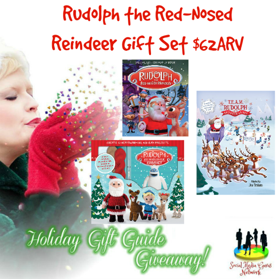 HOLIDAY GIFT GUIDE GIVEAWAY - Rudolph the Red Nosed Reindeer Gift Giveaway