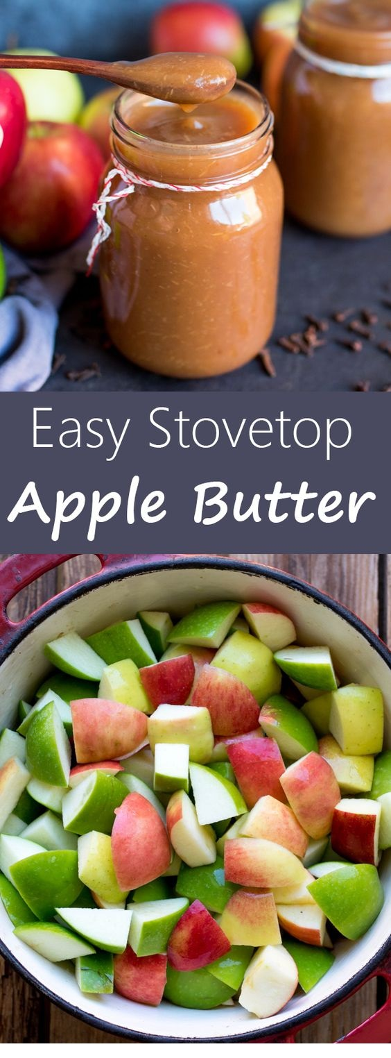 Easy Stovetop Apple Butter