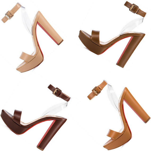 Cherry sandals from Christian Louboutin Nudes Collection