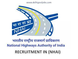 Latest Engineer Recruitment NHAI 2019 - National Highways Authority of India