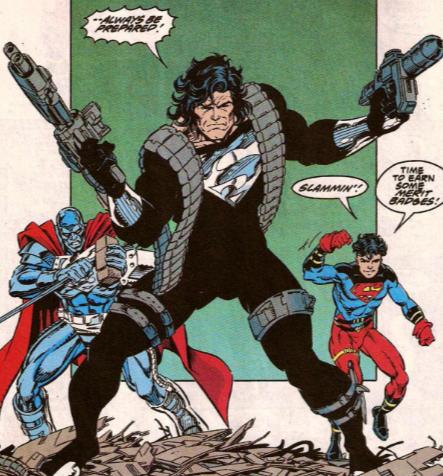 Traje negro de Superman es revelado en la Liga de la Justicia