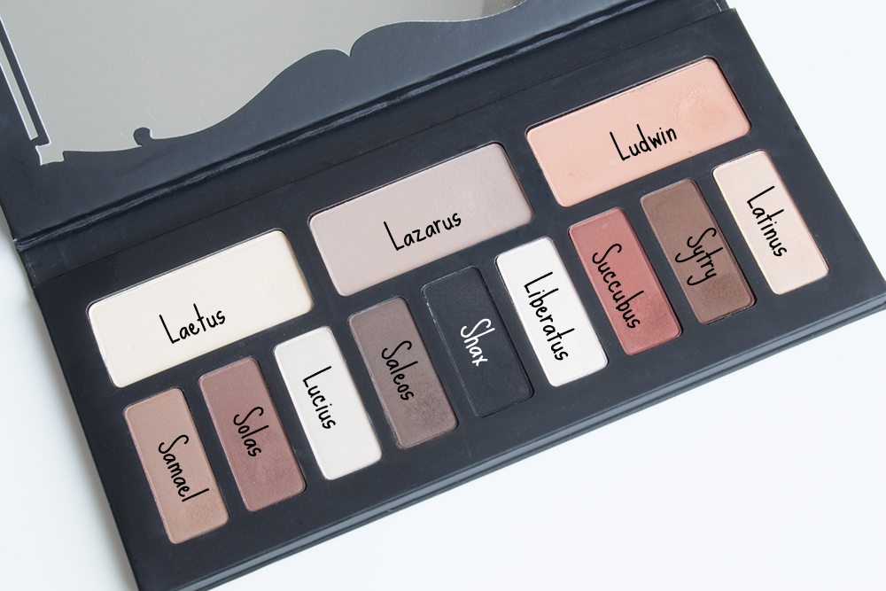 Paleta Shade+Light Eye, Kat von D