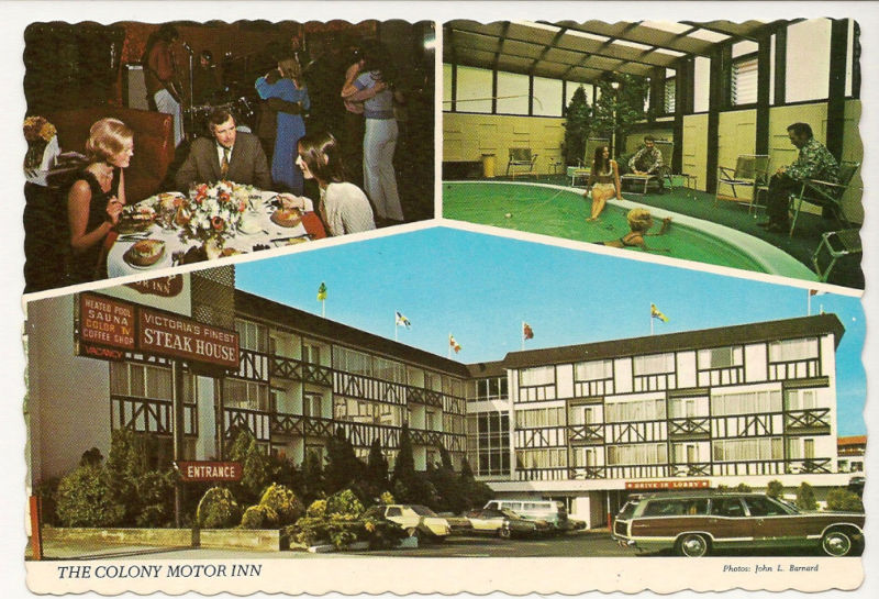 History of drinking establishments of british columbia for Colony house motor lodge
