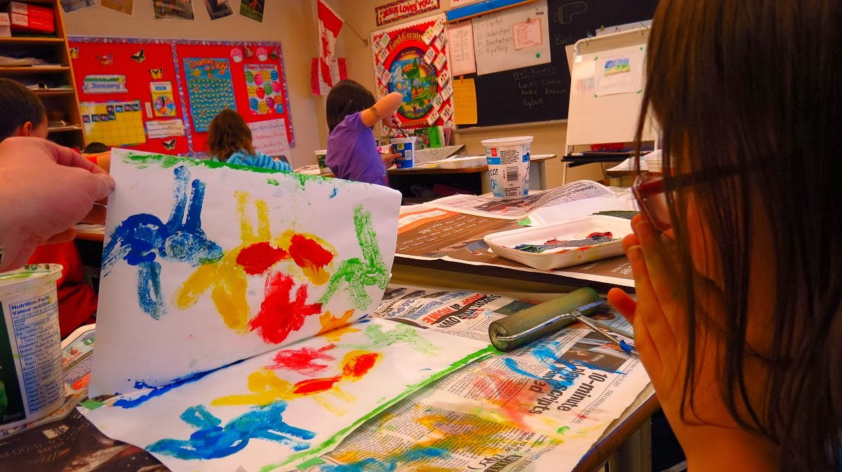 My Printmaking Journey Elementary School Art