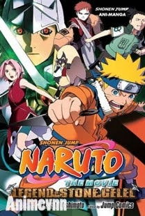 Naruto Huyền thoại đá Gelel - Naruto Movie 2: Legend of the Stone of Gelel 2005 Poster