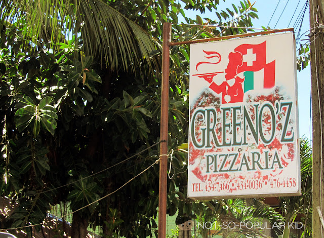 Greenoz Pizzaria in Bacolod