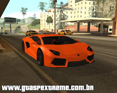 Lamborghini Aventador LP700 para grand theft auto