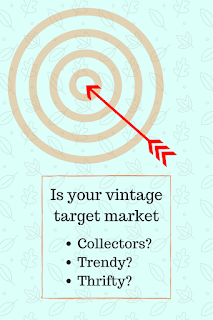 target vintage buyers trendy thrifty collectors