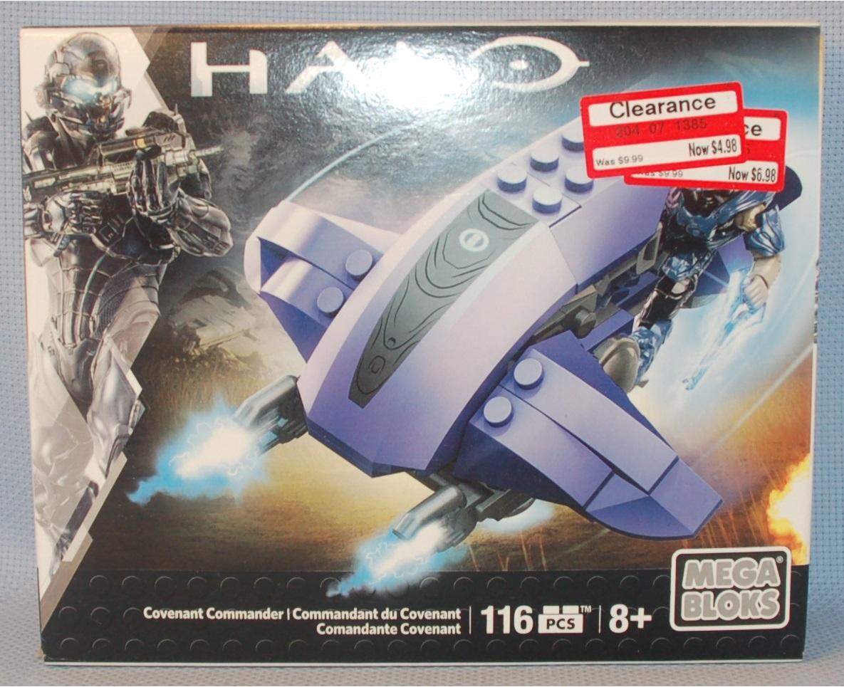 Mega Bloks Halo Covenant Commander 116 PCS Building Set BRAND NEW AND SEALED