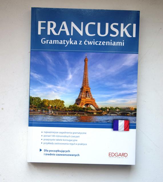 Recenzje #36 - Francuski Gramatyka z ćwiczeniami + konkurs - nagłówek - Francuski przy kawie
