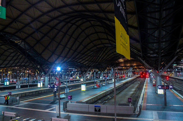 Melbourne Central Railway Station @ Melbourne City (CBD), Victoria, Australia 墨尔本市中心交通站 澳洲澳大利亞 維多利亞州