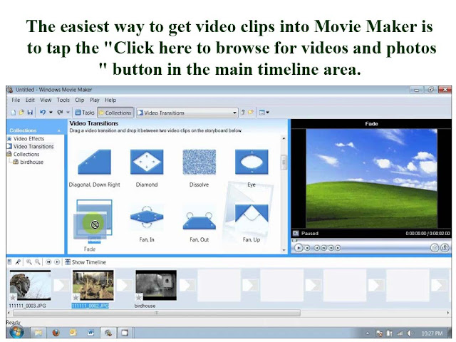 making video from photos program