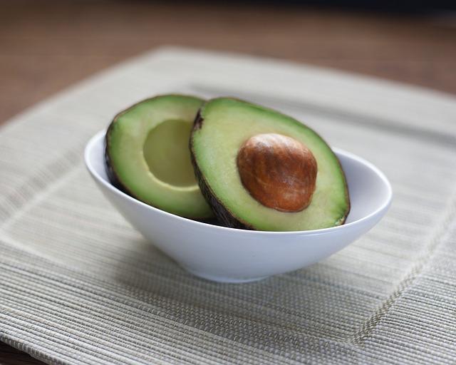 Homemade moisturizing avocado face mask for dry sensitive skin