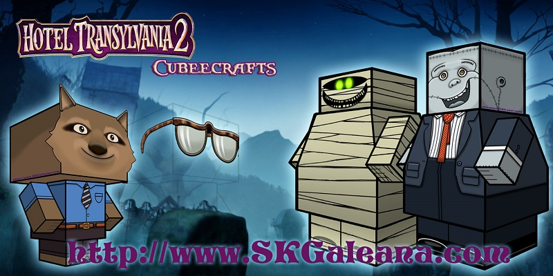 Hotel Transylvania 2 Papercraft
