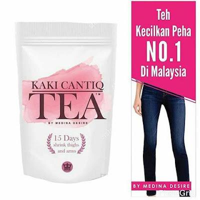 Panduan Minum KAKI CANTIQ TEA MEDINA DESIRE