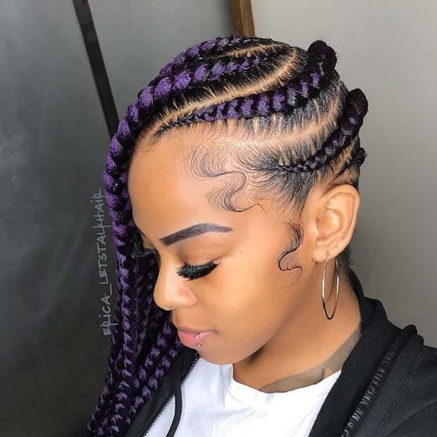 39 Latest Lemonade Side Braids Hairstyles 2018 Fashionuki