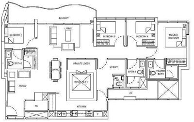 Queens Peak Floorplan3