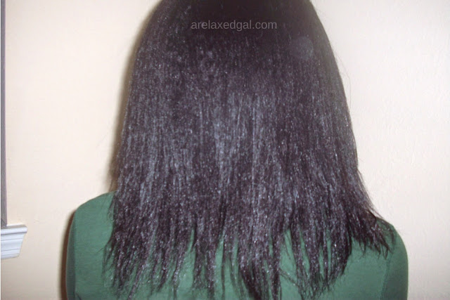 See how I'm dealing with some hair breakage at 13 weeks post relaxer touch up. | arelaxedgal.com