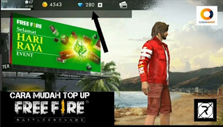 Codashop FF || Cara Top up diamond Free Fire