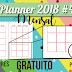 Planner 2018 #4: planner mensal (gratuito para download)