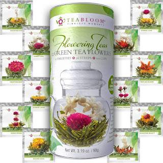 tè che fioriscono