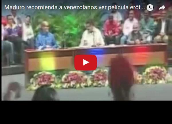 """Maduro le pide al pueblo que vea la película """"9 semanas y media"""""""