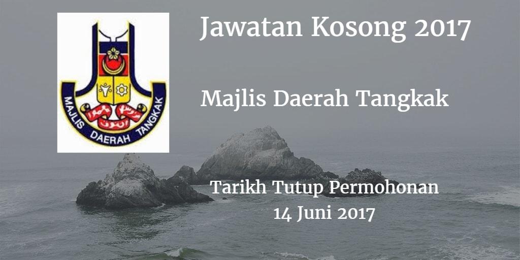 Jawatan Kosong MdTangkak 14 Juni 2017