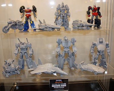 Machine Robo: Revenge of Cronos Figures il ritorno dei Go-Bots