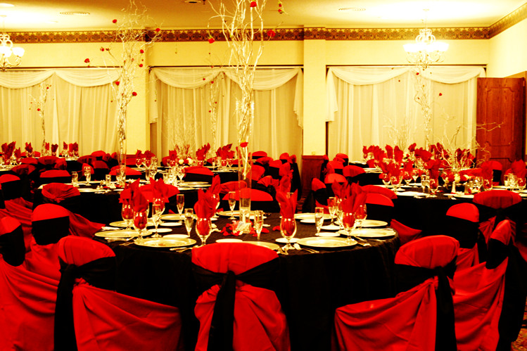 Red black and gold wedding decorations high school mediator red wedding decoration ideas elitflat junglespirit Images