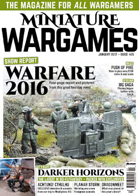 Miniature Wargames 405, January 2016