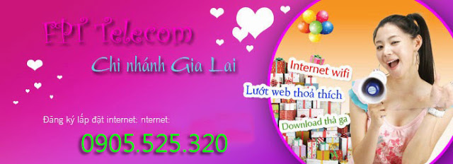 Lắp đặt internet fpt phường Hội Phú, Pleiku