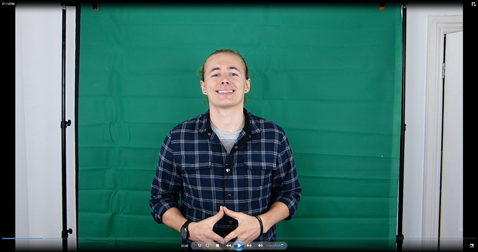 how to put stuff on a green screen sony vegas