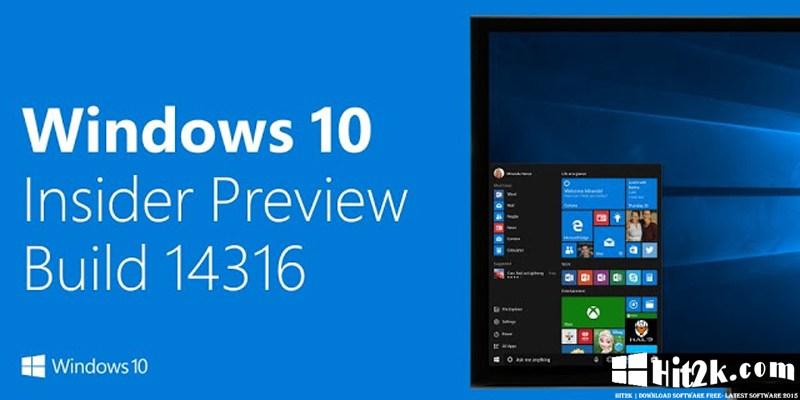 Windows 10 AIO Build 14316 Full Version | Update April 2016