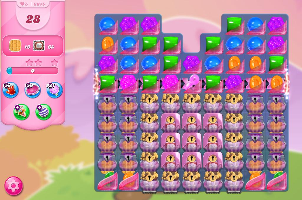 Candy Crush Saga level 6015