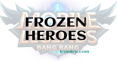 cara mengatasi hero dibekukan di ml, how to fix frozen heroes in mobile legends