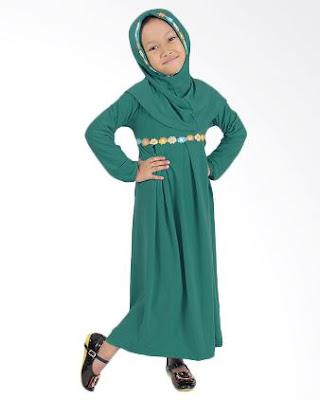 gaya baju muslim anak anak